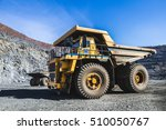 heavy machinery  quarry  iron... | Shutterstock . vector #510050767