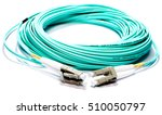 blue fiber optic   type lc | Shutterstock . vector #510050797