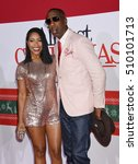 """Small photo of LOS ANGELES - NOV 3: Shah and JB Smoove arrives to the """"Almost Christmas"""" World Premiere on November 3, 2016 in Los Angeles, CA"""