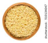 Alfabeto Pasta In Wooden Bowl....