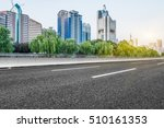 inner city highway in china. | Shutterstock . vector #510161353
