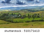 mountain summer day landscape... | Shutterstock . vector #510171613