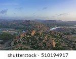 hampi from matanga hill   Shutterstock . vector #510194917