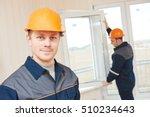 window installation workers | Shutterstock . vector #510234643