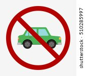 green car icon isolated on...