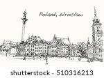 sketch cityscape of poland ...   Shutterstock .eps vector #510316213