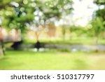 defocused bokeh background of ... | Shutterstock . vector #510317797