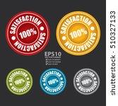 vector   100  satisfaction... | Shutterstock .eps vector #510327133