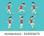 cartoon character  man playing...   Shutterstock .eps vector #510333673