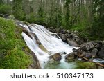Waterfall Of Studeny Potok...