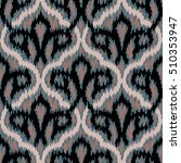 abstract ikat pattern | Shutterstock .eps vector #510353947