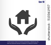 house vector icon | Shutterstock .eps vector #510361957