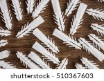 Dowels Wooden Background