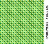 green pattern from geometrical...   Shutterstock .eps vector #51037126