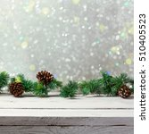 christmas holiday background... | Shutterstock . vector #510405523