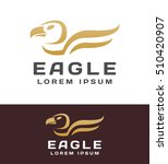 eagle logo. eagle icon. eagle...   Shutterstock .eps vector #510420907