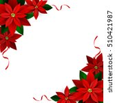christmas decoration on white | Shutterstock .eps vector #510421987