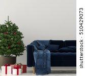 3d illustration. christmas... | Shutterstock . vector #510429073