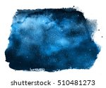 night sky with stars isolated... | Shutterstock . vector #510481273