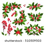 christmas collection of... | Shutterstock .eps vector #510509503