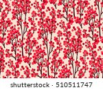 beautiful seamless pattern.... | Shutterstock .eps vector #510511747