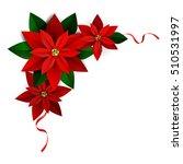christmas decoration on white | Shutterstock .eps vector #510531997