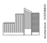 tower building of city design   Shutterstock .eps vector #510538843