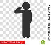 child salute eps vector... | Shutterstock .eps vector #510539983