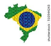 brazil concept design | Shutterstock .eps vector #510544243