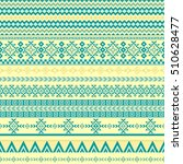 ethnic seamless pattern with... | Shutterstock .eps vector #510628477
