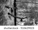 black and white image of a...   Shutterstock . vector #510629023