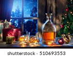 close up view  of two glasses...   Shutterstock . vector #510693553