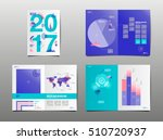 annual report 2017  template... | Shutterstock .eps vector #510720937