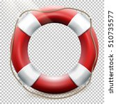 Life Buoy Isolated On...