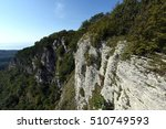 eagle rock  or the rock of... | Shutterstock . vector #510749593