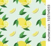 vector seamless pattern with... | Shutterstock .eps vector #510764053