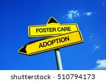 foster care or adoption  ...   Shutterstock . vector #510794173