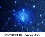 abstract technology concept... | Shutterstock .eps vector #510826507