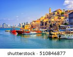 Old Town And Port Of Jaffa And...