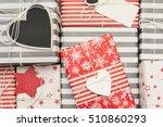 christmas gifts   Shutterstock . vector #510860293