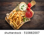 french fries | Shutterstock . vector #510882007