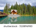 the scenic emerald lake at... | Shutterstock . vector #510896983