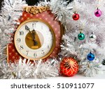 vintage watch with decorated... | Shutterstock . vector #510911077