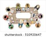 flat design illustration... | Shutterstock .eps vector #510920647
