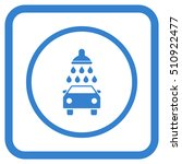 car shower cobalt vector icon.... | Shutterstock .eps vector #510922477