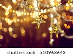 christmas and new year... | Shutterstock . vector #510963643