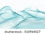 abstract  futuristic 3d render...   Shutterstock . vector #510964027