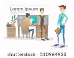 business people group team...   Shutterstock .eps vector #510964933