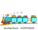 education themed border... | Shutterstock .eps vector #510970633