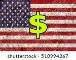 united states dollar symbol... | Shutterstock . vector #510994267
